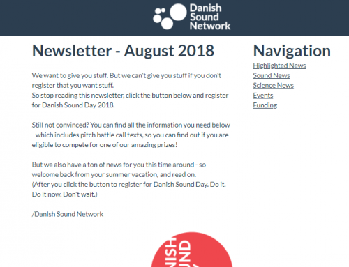 The August Newsletter