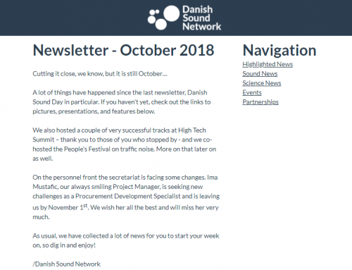 The October Newsletter