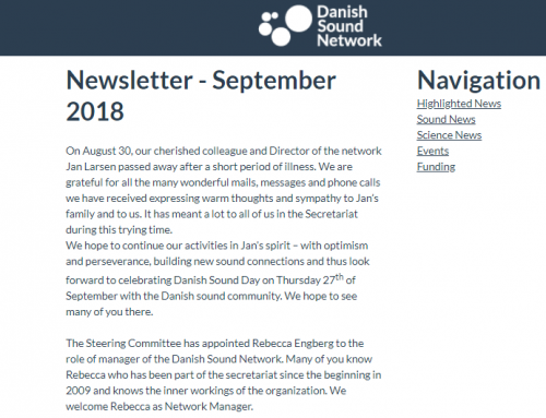 The September Newsletter