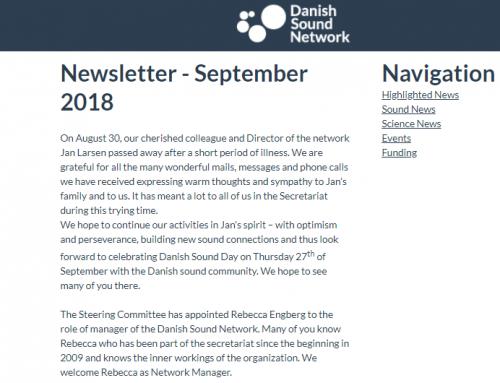 The September Newsletter