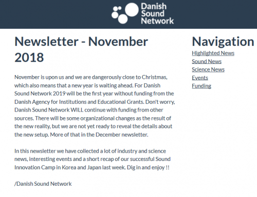 The November Newsletter