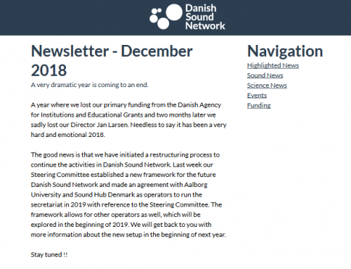 The December Newsletter
