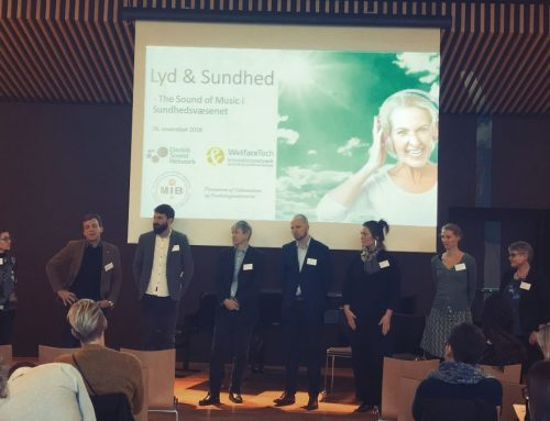 Final conference of the project 'Lyd og Sundhed'