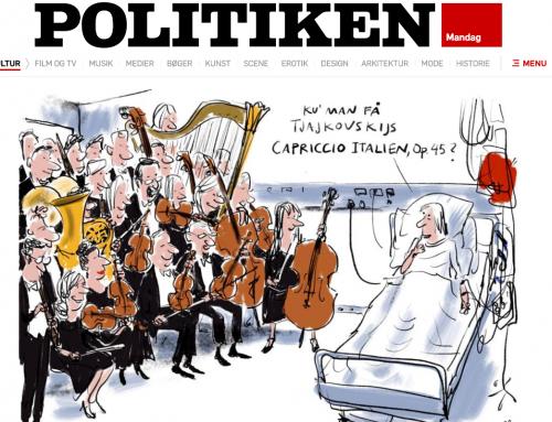 Ny rapport om brugen af musik i sundhedsvæsenet (in Danish)